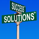 Project solutions street sign
