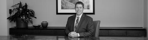 Spencer Fane attorney Ethan Rector horizontal